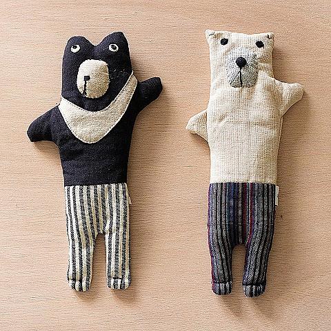 【讓人權‧看得遠】月捐1000元以上*12期:「繭裹子」台灣黑熊/北極熊眼枕,隨機出貨乙個(2020年方案)